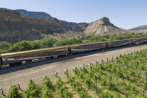 Rockies to the Red Rocks, a new Rocky Mountaineer rail route in the United States.