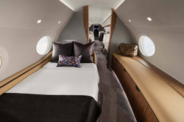 It also features a new lighting system designed to mimic circadian rhythms, to help travellers sleep on long haul flights.