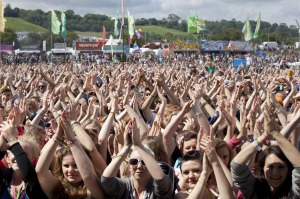 The major music festival Glastonbury (normally) takes place in which country?