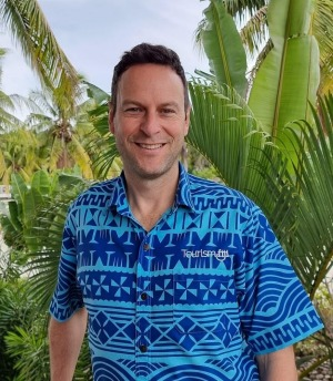 Brent Hill, the new chief executive of Tourism Fiji.