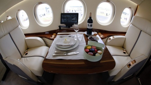 A flight on board the 7X from Canberra to Sydney costs more than $2000.