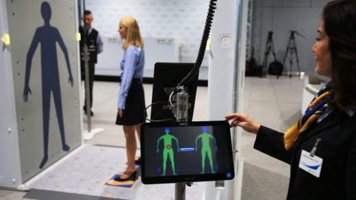 The TSA removed full-body scanners that produced realistic-looking images that some travellers compared to virtual strip ...