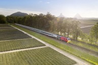 Travel in style from Brisbane in a RailBed seat on the Spirit of Queensland train on the two-day journey past the ...