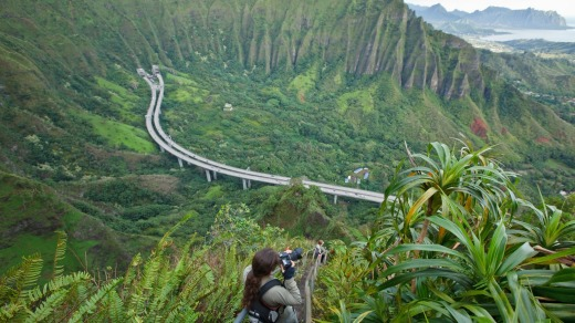 The hike is one of the most popular trails in Oahu.