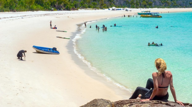 Whitehaven Beach in the Whitsundays. It took a pandemic for many Australians to begin to appreciate what they had in ...