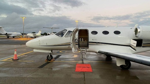 Airly has a shared private jet programme where members can book seats, rather than entire planes.