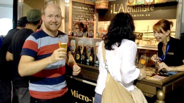 Happy days: The writer during his stint living in Seville.