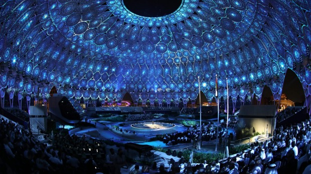 The Expo's opening ceremony on September 30.