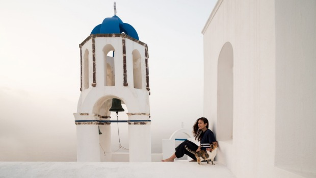 """""""Santorini was the first island to capture my heart but, over the years, I've also grown fond of the tiny island of ..."""