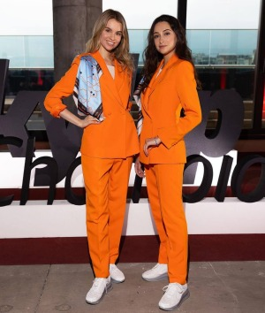 New uniforms are more appropriate for physical work undertaken by flight attendants.