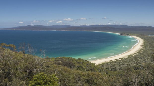 Disaster Bay in Ben Boyd National Park, Green Cape.