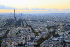For the best view in Paris, head not to the Eiffel Tower, but to Tour Montparnasse.