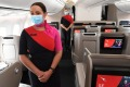 Qantas will resume international flights on Monday and have warned passengers to arrive at the airport four hours before ...