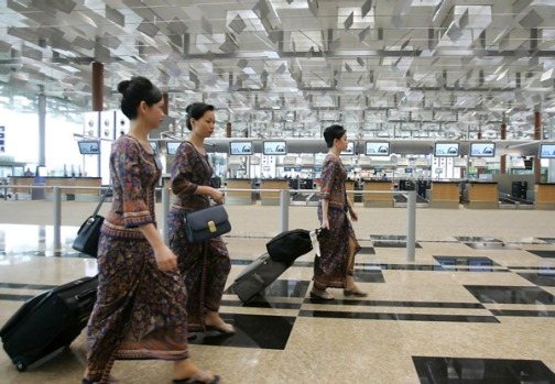 The survey of members of Priority Pass has named Singapore's Changi Airport as the favourite.