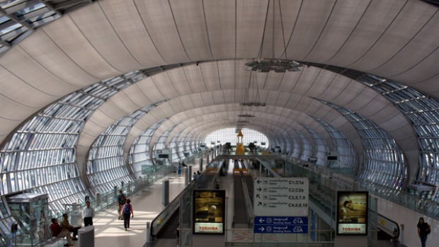 U-Tapao will become Bangkok's third commercial airport after Suvarnabhumi Airport, pictured, and Don Mueang ...