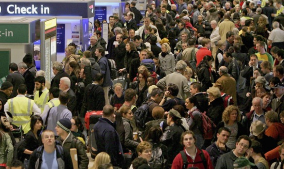And the world's worst airports ... number one: Heathrow, London.
