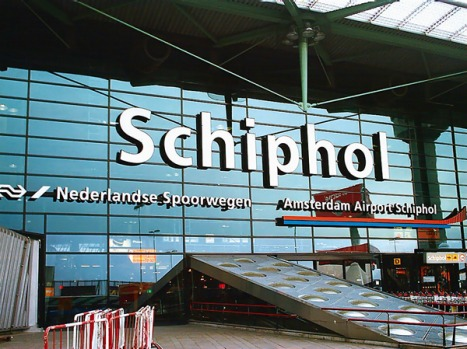 Number three: Amsterdam's Schipol Airport.