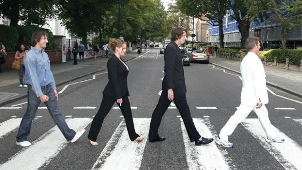 Walk The Talk Iconic Pedestrian Crossing At Abbey Road