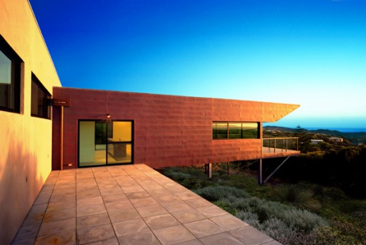 Ron Roozen's place, Margaret River, Western Australia. Owned by local artist and surfer Ron Roozen, there's a 180-degree ...