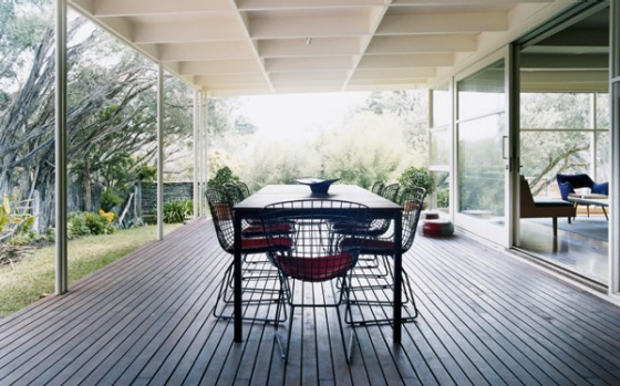 Zealandia, Portsea, Victoria. This classic 1950s beach house has an old-time Hollywood glamour feel with its retro ...