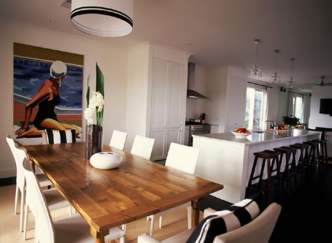 The Summer House, Fleurieu Peninsula, South Australia. With its 'Hamptons' inspired feel, this three-bedroom retreat ...
