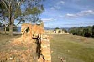 The old convict ruins