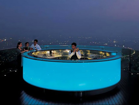 You couldn't do a story on Bangkok high life without including the mix of restaurants and bars at Dome at Lebua, on ...
