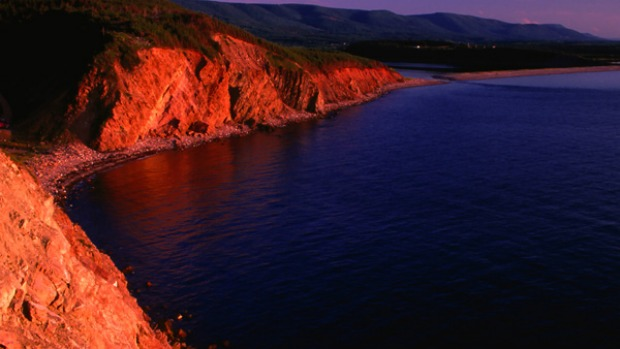 CAPE BRETON ISLAND, CANADA. This justifiably renowned cycling route is best-known for the scenery - breathtaking rocky coastlines, the crystal clear Bras d'Or inland sea and the soaring ridges of the Cape Breton Highlands