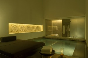 Water therapy ... every room has a plunge pool at Aman New Delhi.