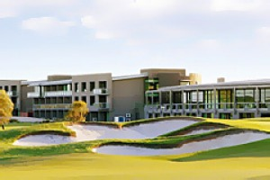 Among the dunes and fairways ... Peppers The Sands Resort overlooks a Stuart Appleby-designed golf course and includes ...