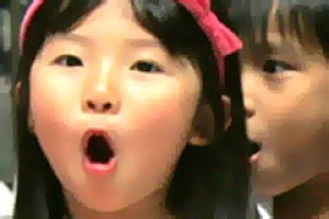 These toddlers carolled to a lunch crowd at the Fuji Xerox Building, Singapore