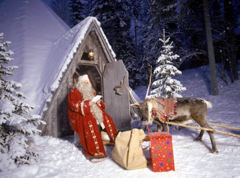 2. SANTA CLAUS VILLAGE, FINLAND. Rug up and head north to Finland's Arctic Circle. The deep wintertime snow and ...