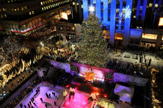 3. NEW YORK CITY, USA. Christmas lights, cheesy muzak, preferably a light dusting of snow. The world's tallest Christmas ...