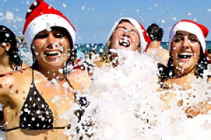 4. BONDI BEACH, AUSTRALIA. Come 25 December the beach acts as a magnet for backpackers a long way from home, who ...