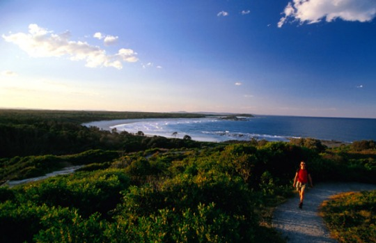 Ten Mile Beach, Bundjalung National Park, NSW. About midway between Evans Head and Iluka, there's room for just 26 ...