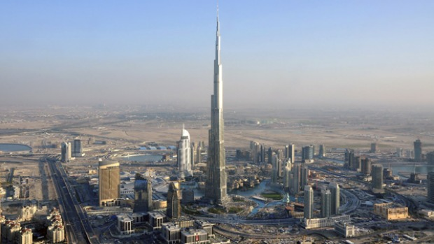 The exact height of the Burj Dubai, the world's tallest building, remains a secret, but it is more than 800 metres tall.