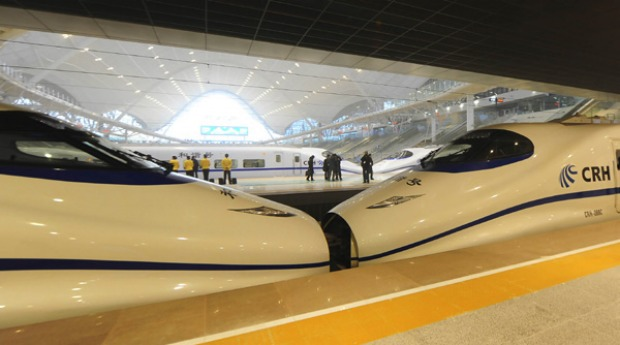 Work on the project began in 2005 as part of plans to expand a high-speed network aimed at eventually linking Guangzhou, ...