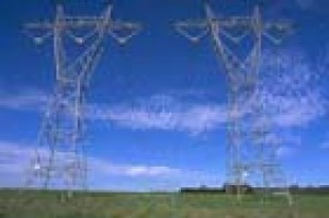 Power lines take electricity from the West Gippsland power stations