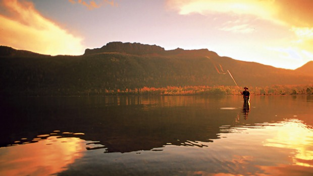 Hook, line and lodge ... the quest for lake trout.