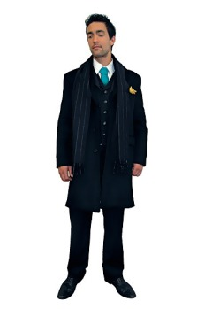 Air New Zealand male manager suit and coat design.