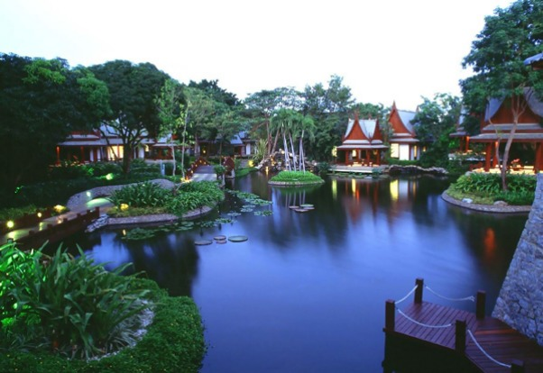 Chiva Som, Thailand. Fifty-eight suites and villas surround a resort pool and the usual gym, meditation salas and the ...
