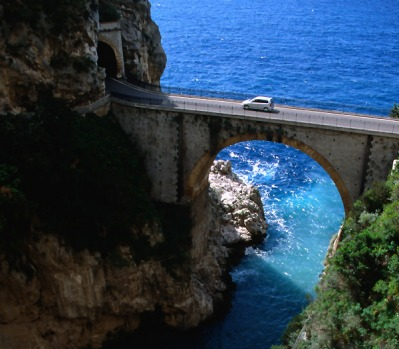 White-knuckle ride on the Amalfi Coast. The striking beauty of the 50-kilometre cliff-hugging road has the power to ...