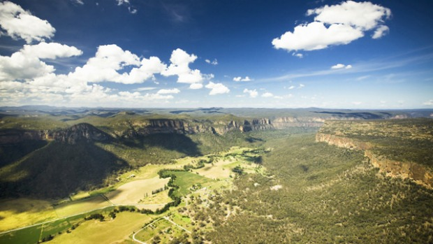 Rugged beauty ... the Capertee Valley is said to be almost a kilometre longer than the US's Grand Canyon.