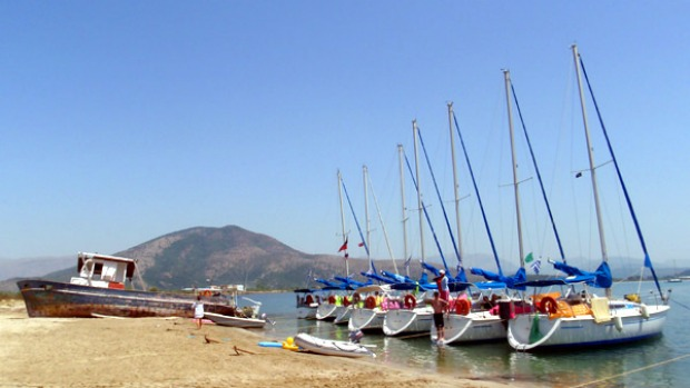 So many sights ... the trip includes a three-day excursion sailing the Ionian Sea near Corfu.
