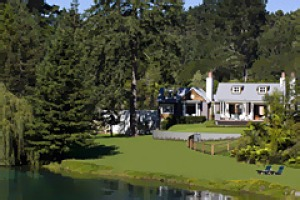Award winner ... Huka Lodge.