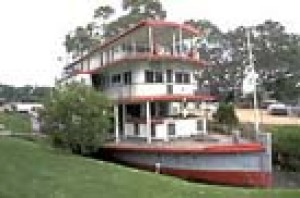 The P.S. Marion - an historic paddlesteamer