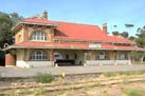 The Moonta Railway Station