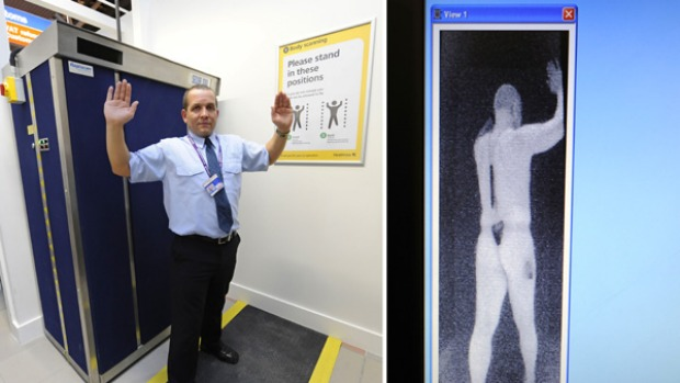 Controversial full body scanners were put into use this week at Heathrow Airport. Figures show many Australians seem ...