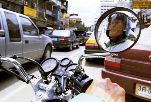 2. MOTORCYCLE-TAXI RIDE, THAILAND. Riders bob in and out of endless lines of cars at alarming speeds, often mounting ...