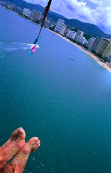 4. PARASAILING, ACAPULCO, MEXICO. Parasailing was invented in Acapulco and that's no surprise: it's an absolutely prime ...